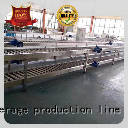 easy operation powered conveyor stainless steel for daily chemical