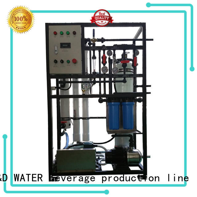 J&D WATER standard desalination device high purity for drinking