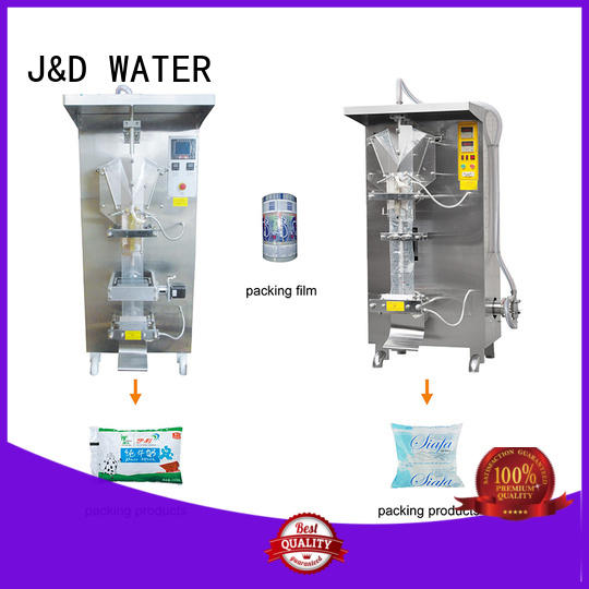 J&D WATER automatic bag filling machine good quality for beverage