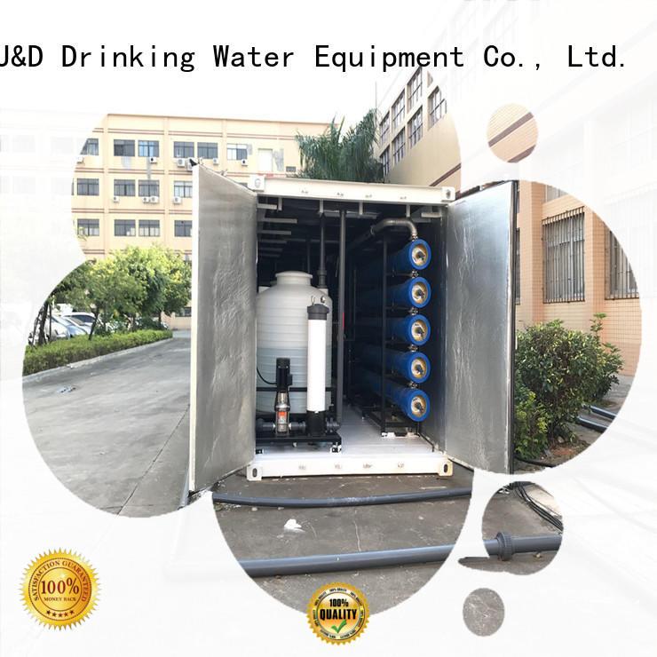 J&D WATER standard desalination filter stable service troop stations