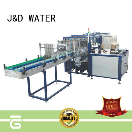 J&D WATER cartoning equipment easy to operate for medicine