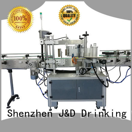 J&D WATER paper automatic sticker labeling machine adjustable for label papers