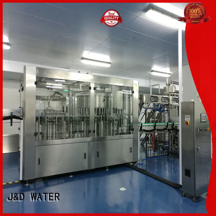 intelligent mineral water filling machine high accuracy for Glass bottles