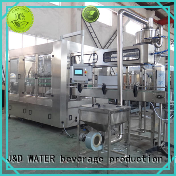 J&D WATER bottle filling machine good quality for mineral water