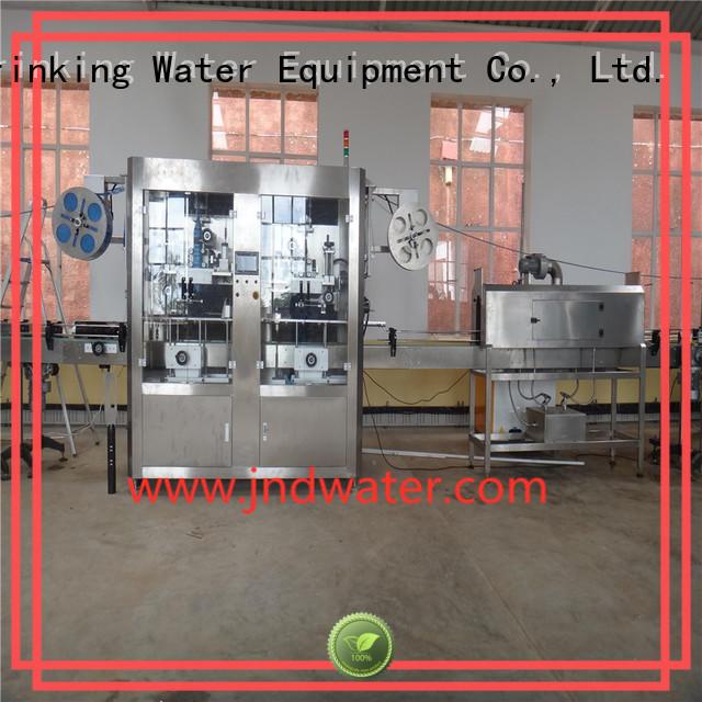Производители этикетировочных машин для изготовления этикеток с рукавом этикетировочные машины J & D WATER Brand