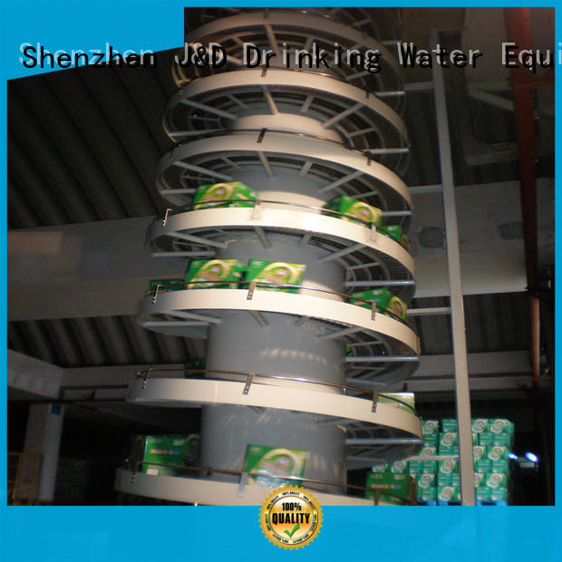 J&D WATER slat conveyor high efficiency for drinking water