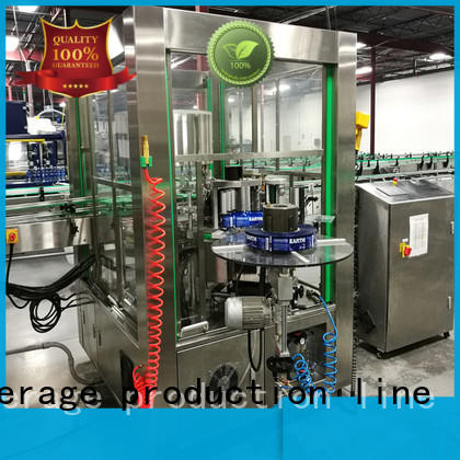 anti-rust semi automatic bottle labeling machine convenient for plastic bottle