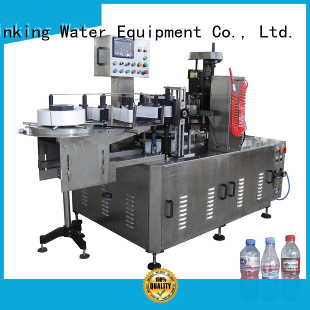 J&D WATER Brand machine opp custom bottle filling and labeling machine
