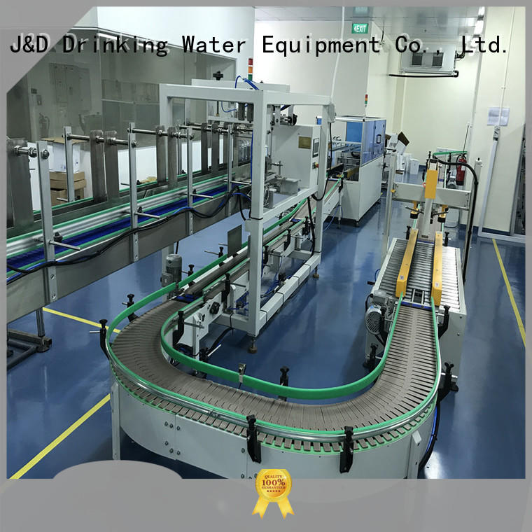 cartoning machine easy to operate for chemistry J&D WATER