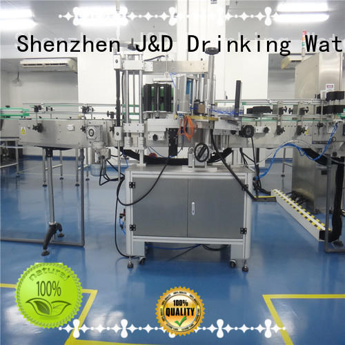 Automatic automatic sticker labeling machine convenient for metal container