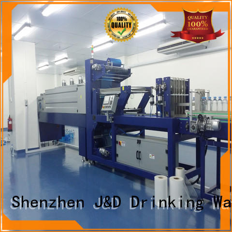 J&D WATER intelligent film package machine packaging food