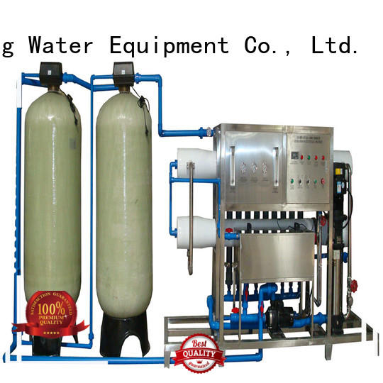 J&D WATER easy operation osmosis machine with Glass Tank for water treatment