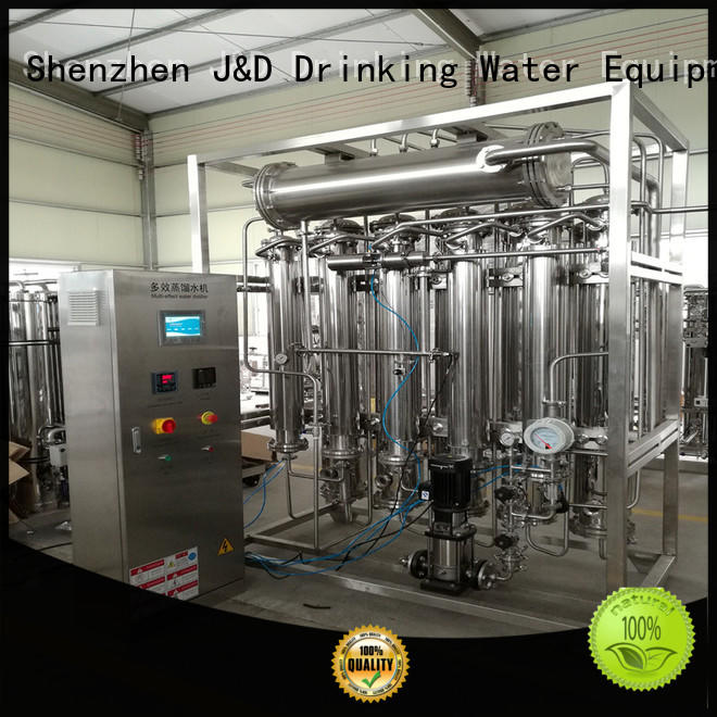 distilled water machine price generator water J&D WATER Brand company