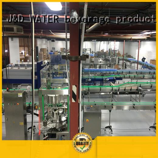 J&D WATER slat conveyor stability for drinking water