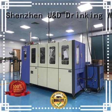 J&D WATER PET semi automatic pet blowing machine standard for oil