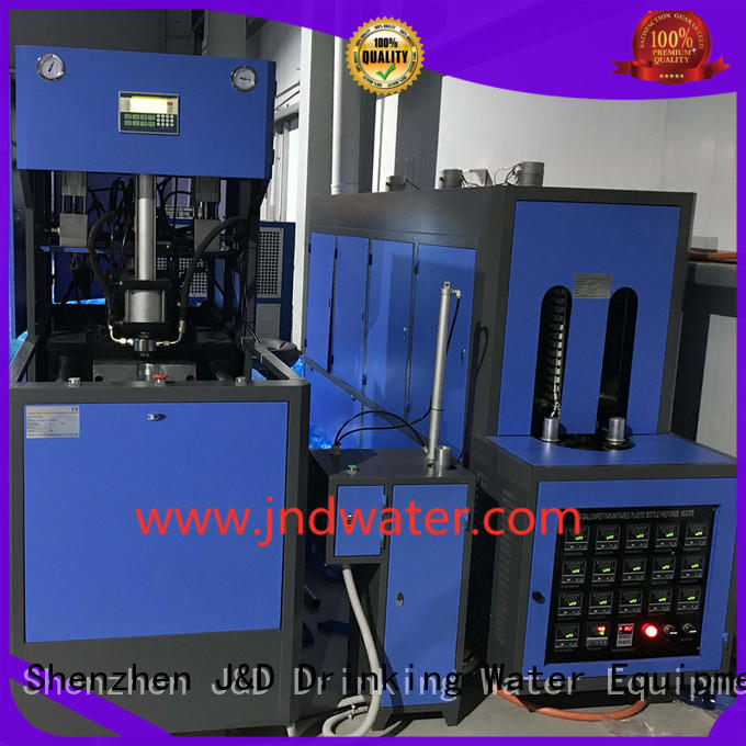 Hot injection stretch blow molding machine blow J&D WATER Brand