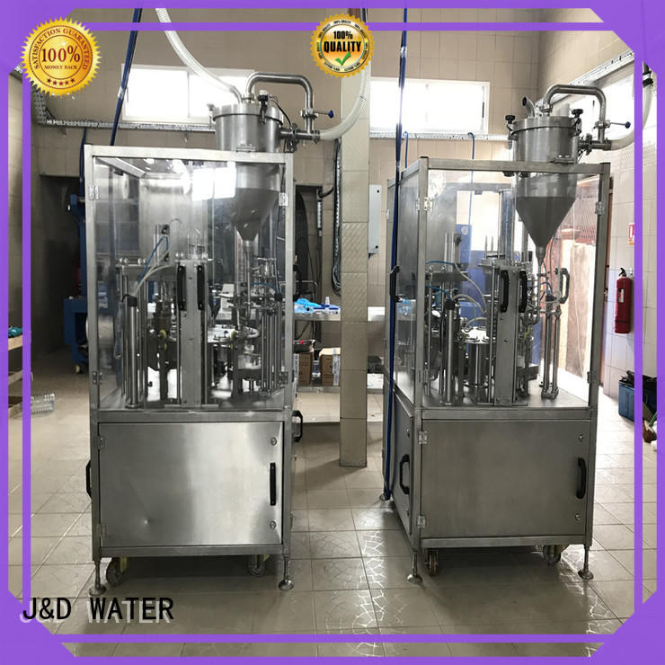 adjusted cup sealing machine engineering for PET plastic