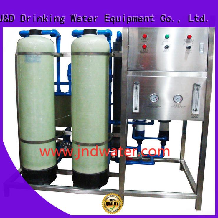 оборудование для очистки оборудования OEM завод минеральной воды J & D WATER