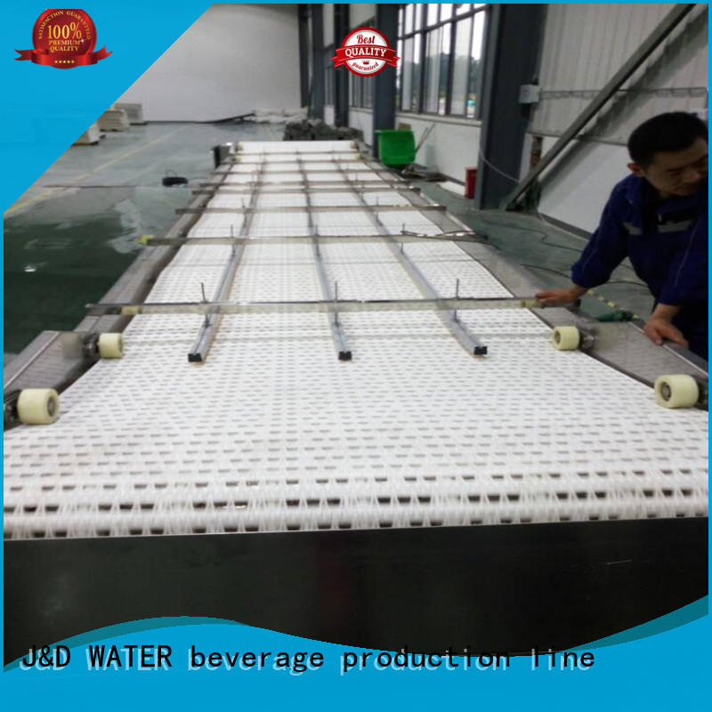 J&D WATER slat conveyor high efficiency for daily chemical