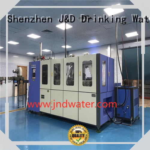 bottle molding pet blowing machine water J&D WATER company