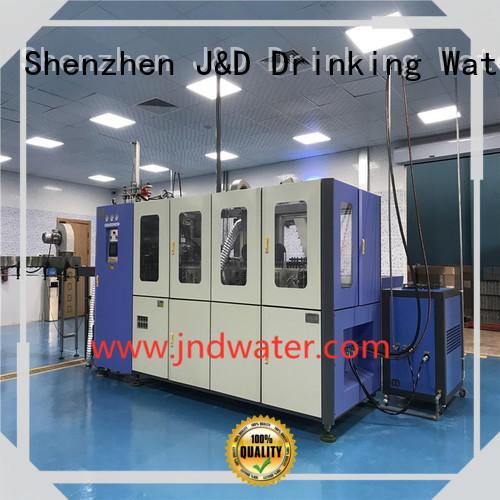 машина для выдувания бутылок для пенообразования воды компания J & D WATER