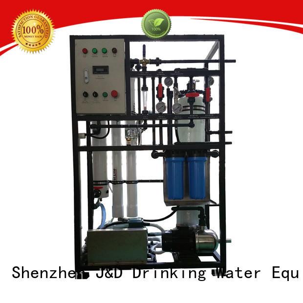 J&D WATER desalination desalination machine high purity for sea shore cities