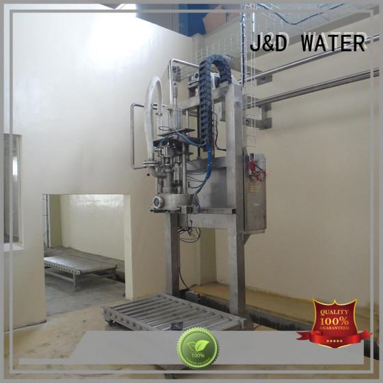J&D WATER bag filling machine complete function for PET plastic