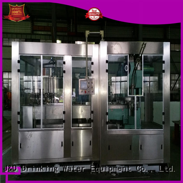 adjusted canning machine factory for mineral water
