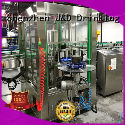 fast bottle filling and labeling machine reduce cost for metal container