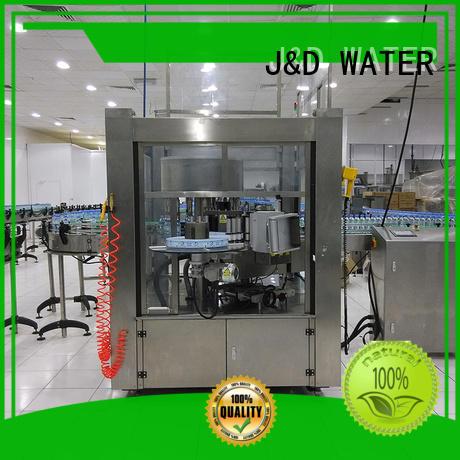 OPP square bottle labeling machine standard for glass bottle