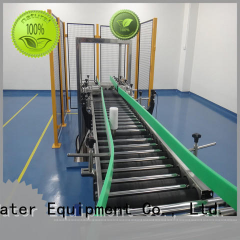 J&D WATER high quality roller conveyor system stability drinking