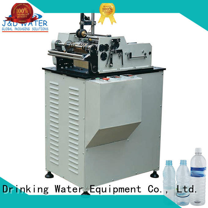 Hot bottle bottle filling and labeling machine labeling J&D WATER Brand