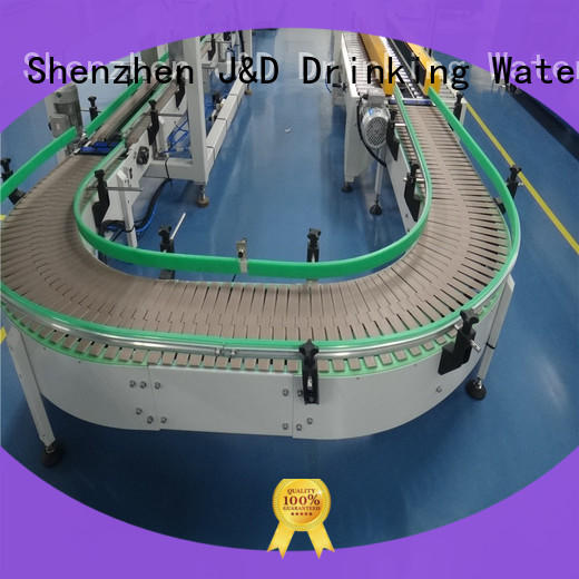 easy transport chain conveyor high efficiency for drinking water