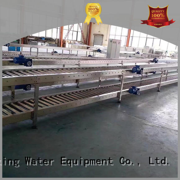 conveniently roller conveyor system stability for beverage J&D WATER