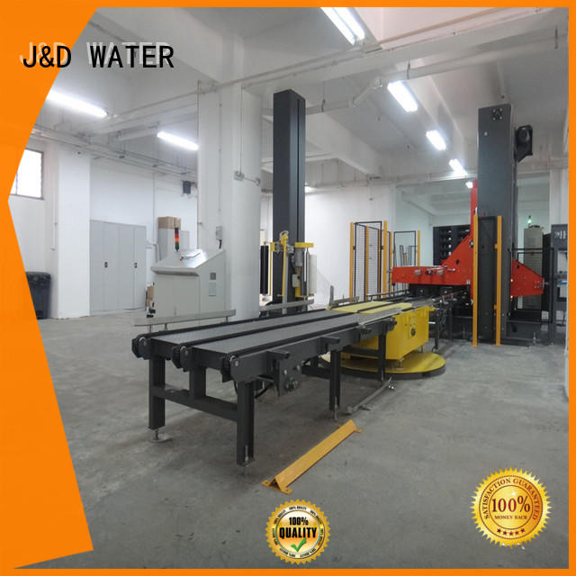 J&D WATER wrapping wrapping machine precise control for chemistry