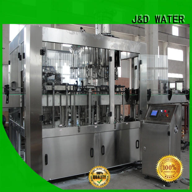 J&D WATER larger capacity bottling machine cost for pure water