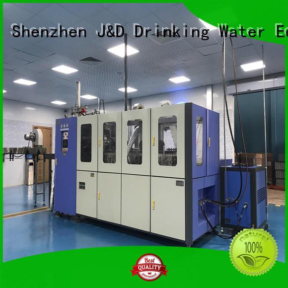 pet pet blowing machine molding J&D WATER company