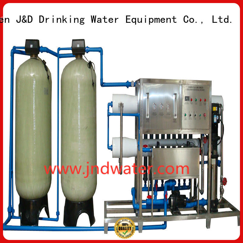 Hot water ro machine reverse osmosis J&D WATER Brand
