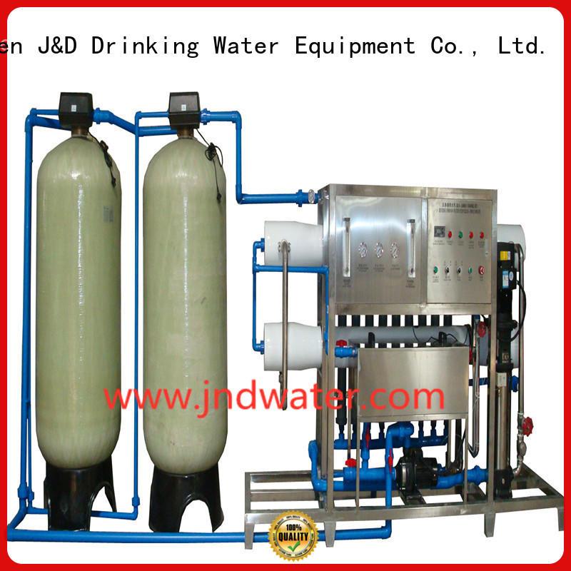 Машина горячей воды ro обратного осмоса J & D WATER Brand