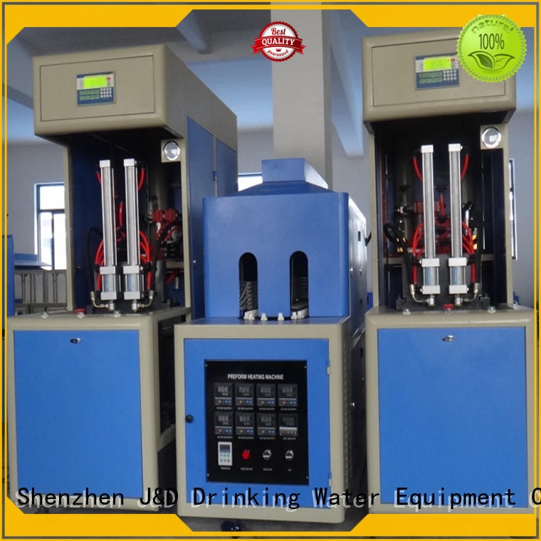 J&D WATER Customized stretch blow moulding machine bottle for hot fill containers
