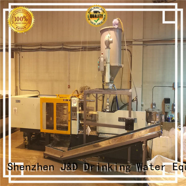 model power injection machine J&D WATER Brand plastic molding company supplier