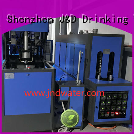 capping semiauto blow moulding machine filling J&D WATER Brand company