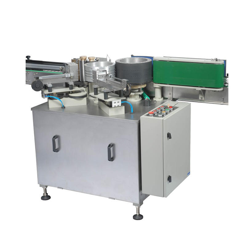 J&D WATER stainless steel semi automatic labeling machine standard for metal container-1