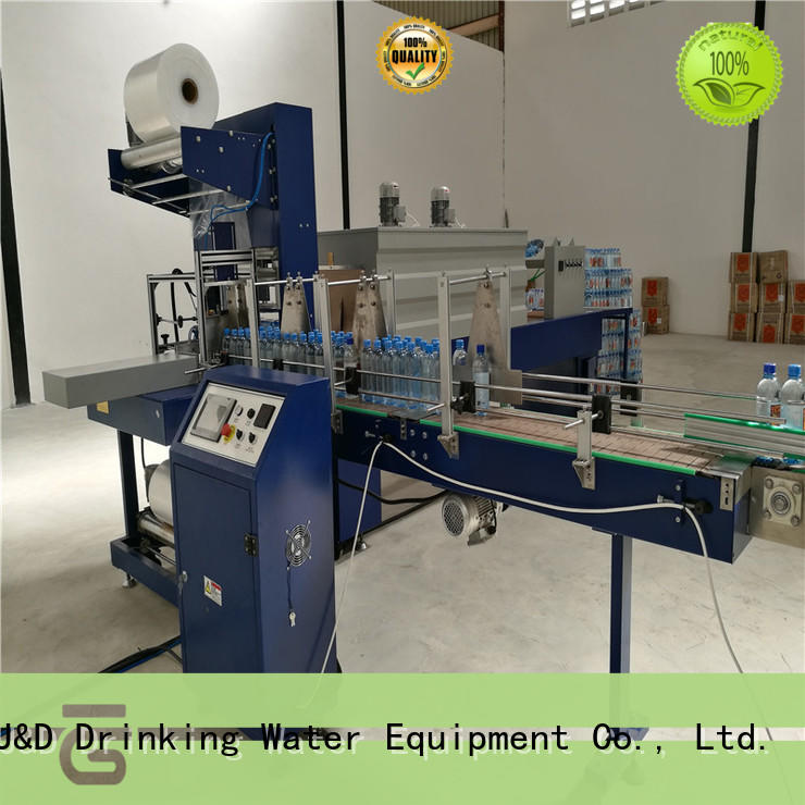 J&D WATER vacuum plastic wrapping machine precise control for medicine