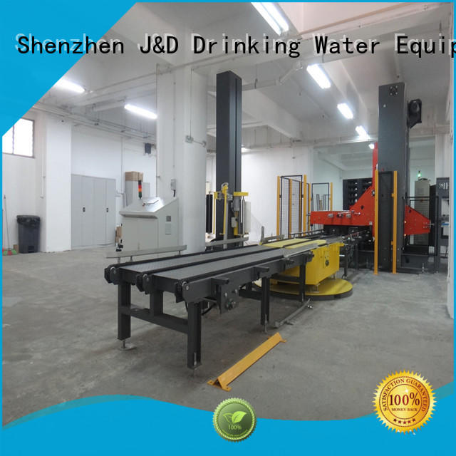packing pallet wrapping machine easy to operate sugar
