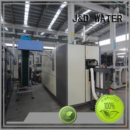 Automatic water bottle making machine stable for PET plastic