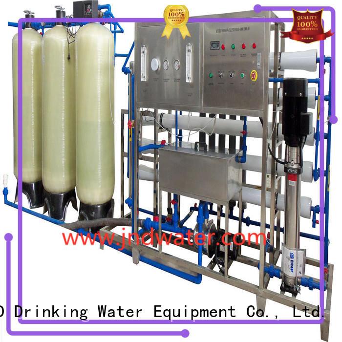 osmosis ro machine reverse J&D WATER company