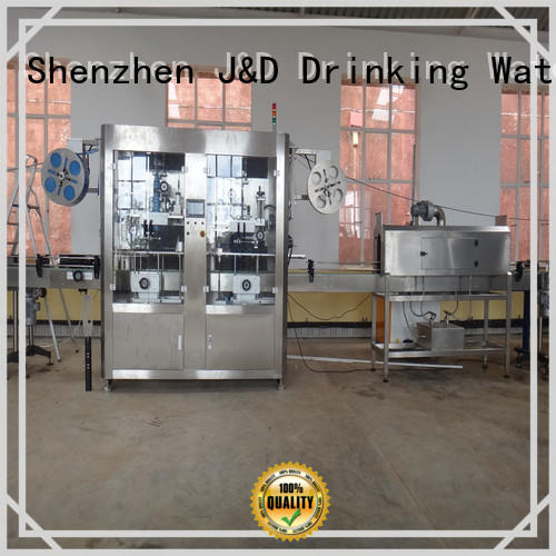 waterproof sleeve labeling machine reduce cost for film lables
