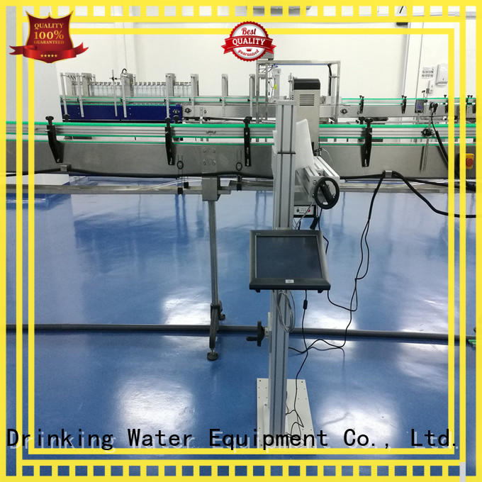 J&D WATER stable laser marking machine high-definition screen for paper