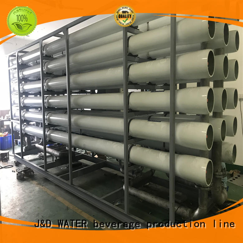 J&D WATER desalination machine stable service for troop stations